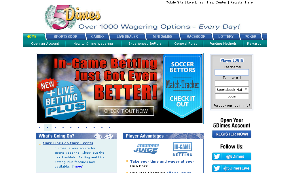 Bovada lv sports betting