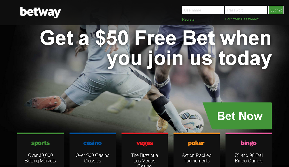 betway official website