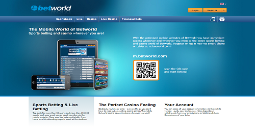 betworld mobile