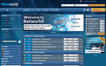 betworld official website
