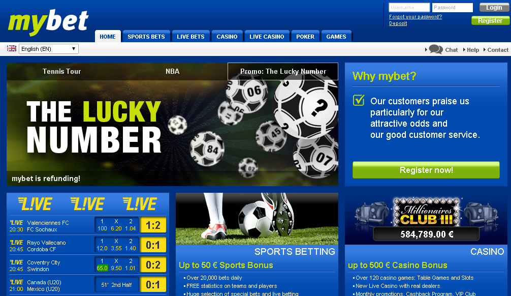mybet official website