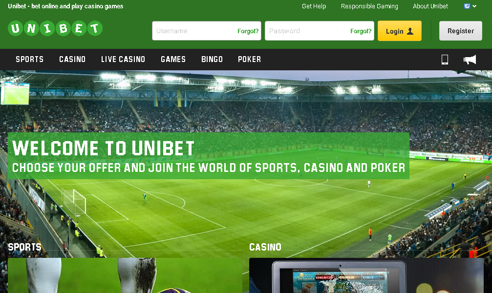 unibet website
