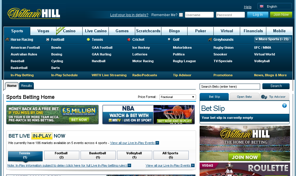 william hill official website